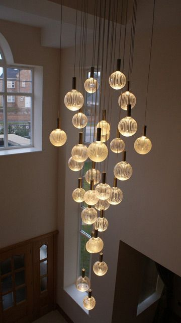 10 Modern Chandeliers You Will Love Modern Vintage Lamps Id Lights Contemporary Chandelier Stairway Lighting Modern Foyer