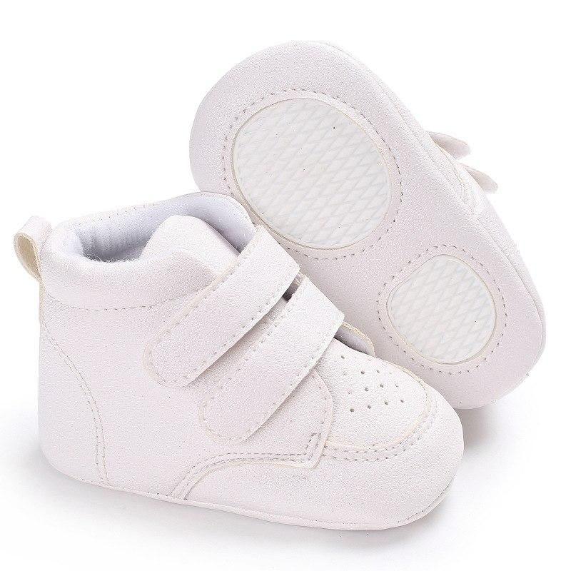 Newborn Soft Soled Boots Boy Girl First Walkers Non-slip Shoes Infant Toddler