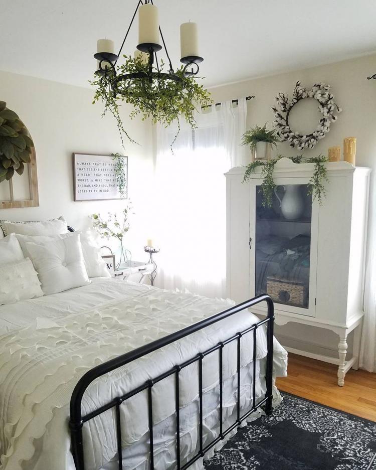 50 Cozy Farmhouse Master Bedroom Remodel Ideas: Cozy Farmhouse Master Bedroom Decorating Ideas