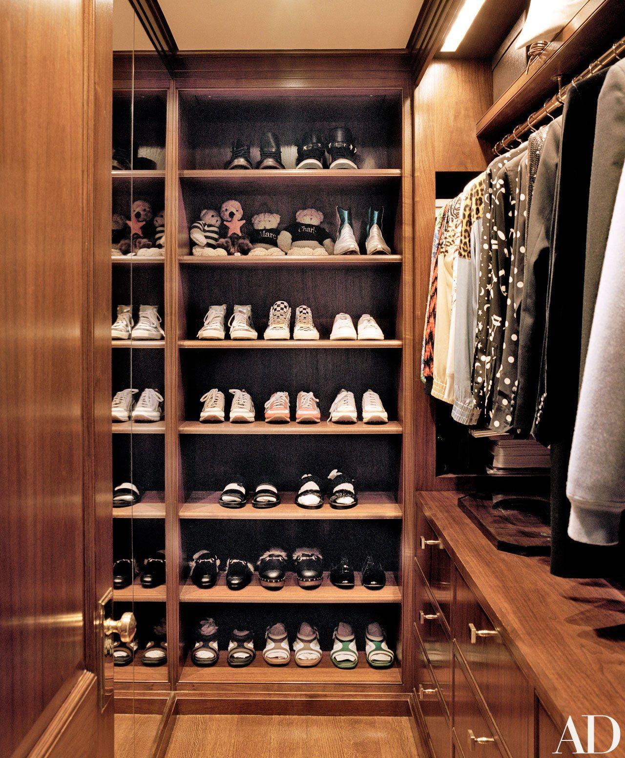 Master bedroom wardrobe designs inside  The Closets of Mariah Carey Ellen DeGeneres Brooke Shields and