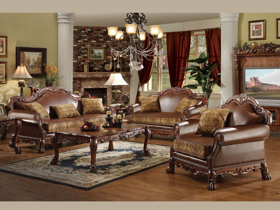 Dresden Classic Sofa And Loveseat #sofa #loveseat #livingroom #rana  #ranafurniture #