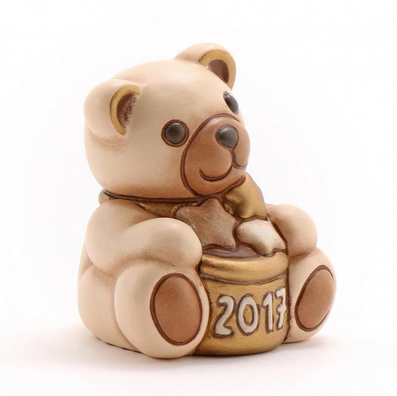 Teddy thun buon anno 2017 colore champagne cm7 f2302b83 - Panda thun 2017 ...