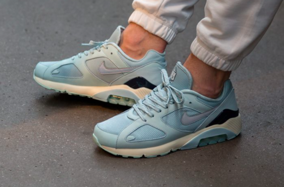 The Nike Air Max 180 Ice (Ocean Bliss) Cools Off Summer  1d6bc5378