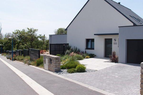 Einfach Eingangsbereich Haus Au\u00dfen Interessant Moderner