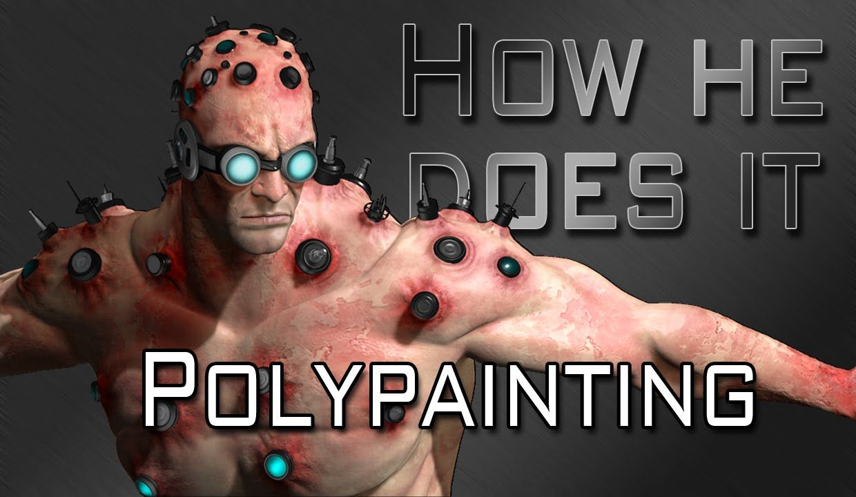 How He Does It: Polypainting Tutorial