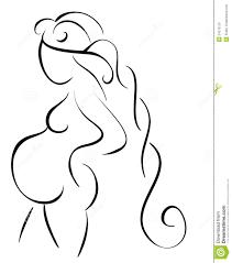Resultado De Imagen Para Dibujo De Mujer Embarazada De Perfil Tribal Tattoos Art Arabic Calligraphy