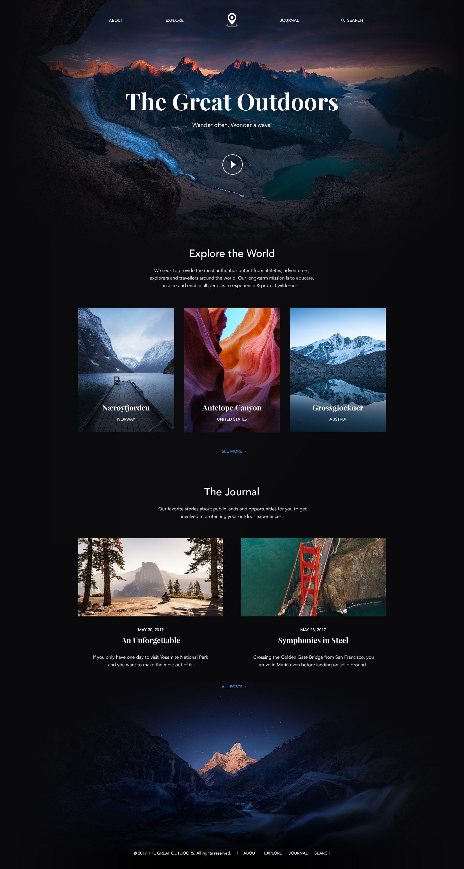 Full Size Travel Website Design Modern Web Design Website Design