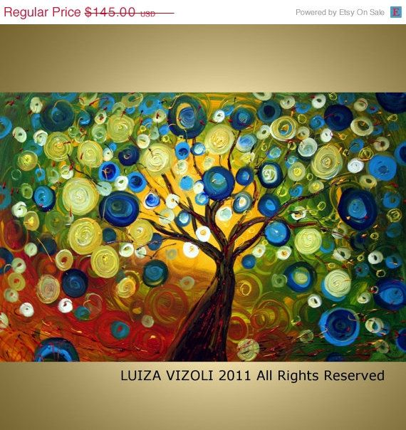 Giclee on Large Stretched Canvas from original by vizoliartprints, $123.25