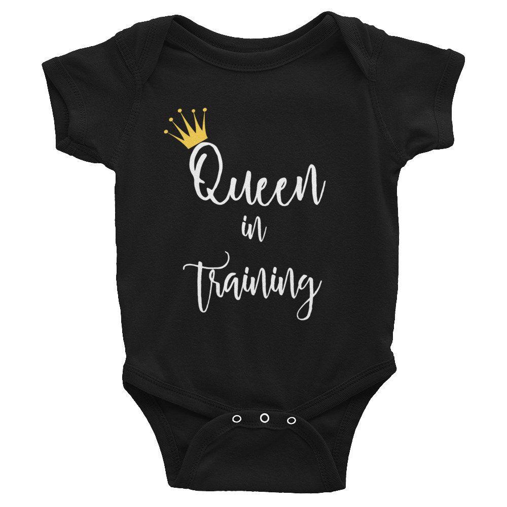 Infant Queenin/' Onesie