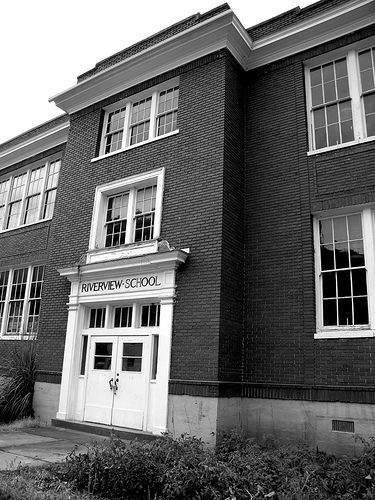Riverview School at Hinton West Virginia by whitby wv, via Flickr