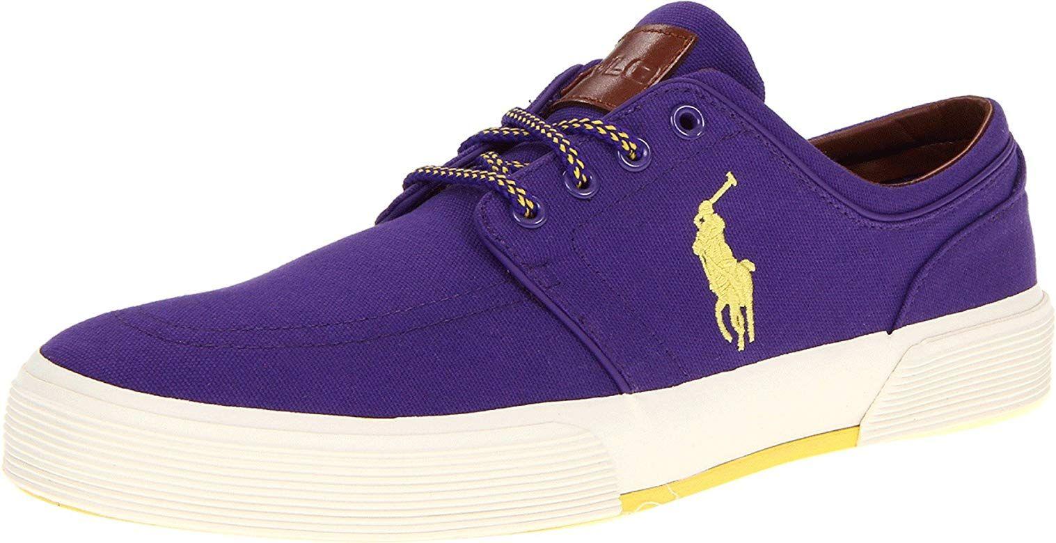 Polo Ralph Lauren mens Faxon loe sneakers - YouTube