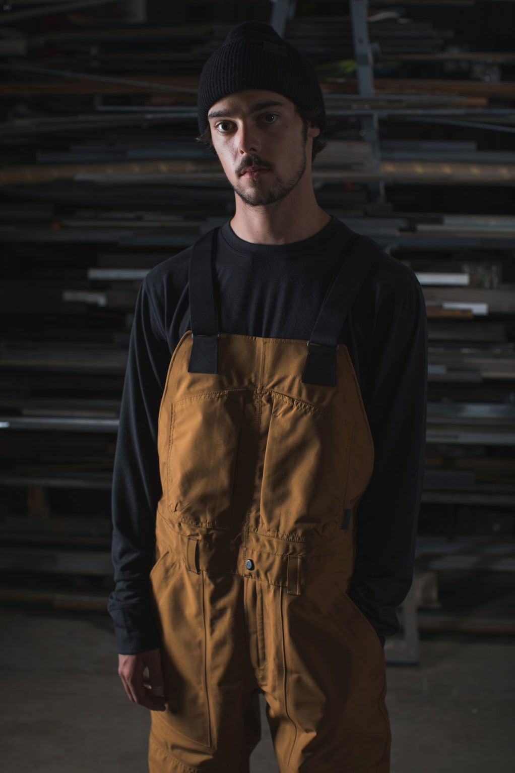 Burton Carhartt Wip Launch Workwear Inspired Collection Built For The Mountains Overalls Men Fashion Carhartt Overalls Men