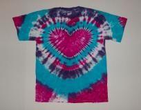 Custom Order for Robyn - Electric Heart Tie Dye - L