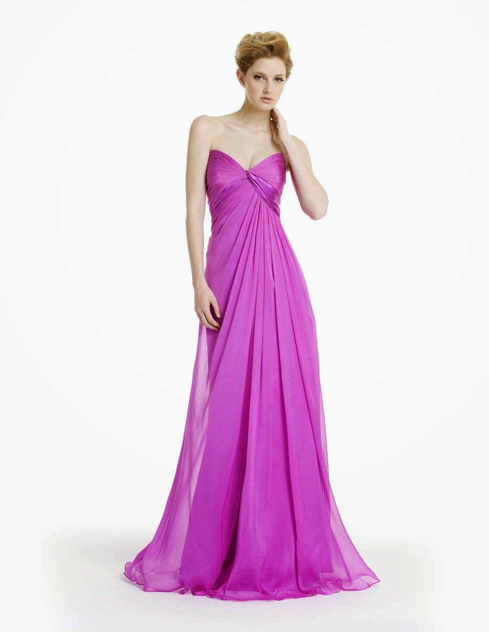 El nuevo color de la moda: Vestidos color rosado | working with ...