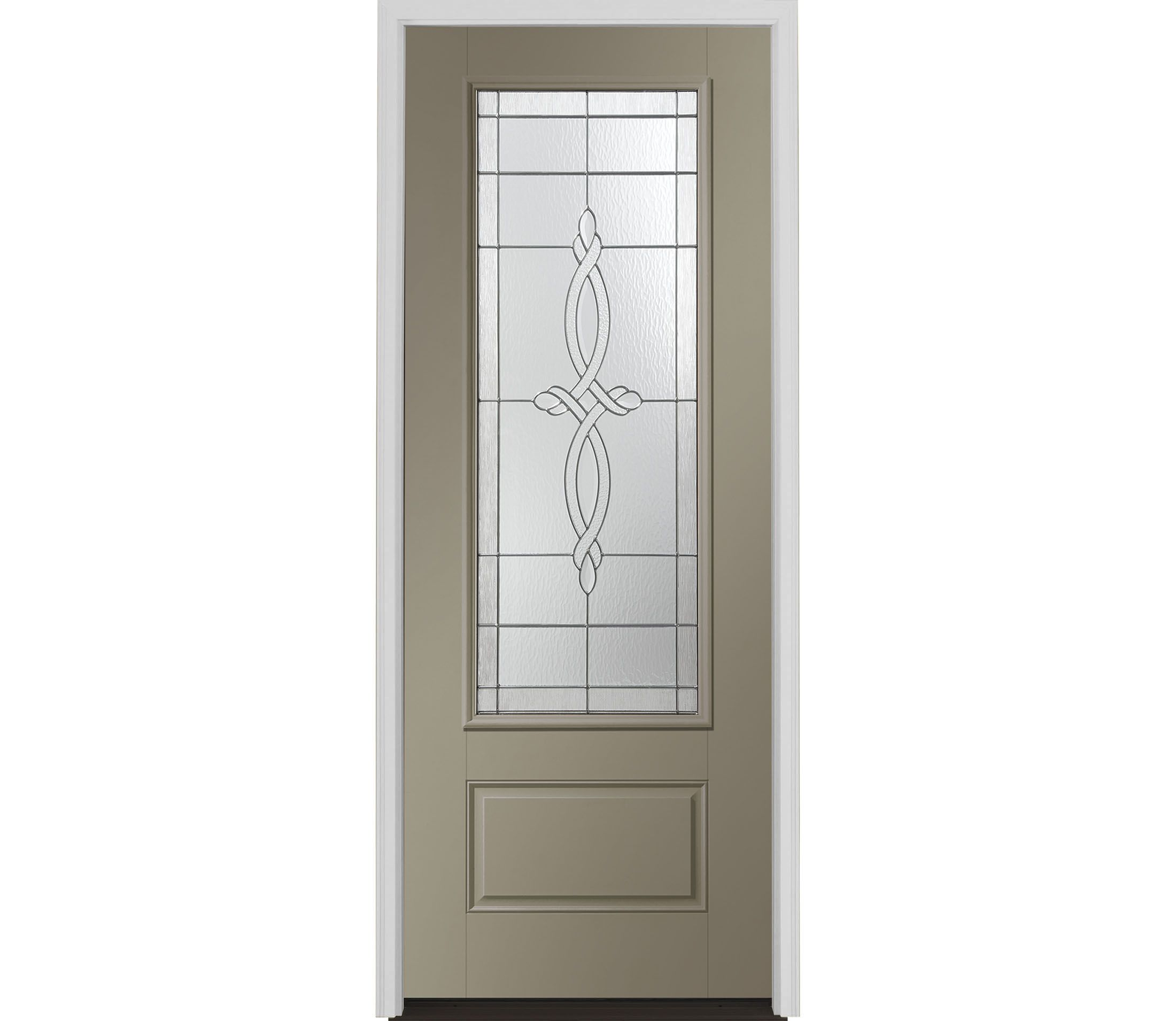 Encompass By Pella European 3 4 Light Entry Door With Glass