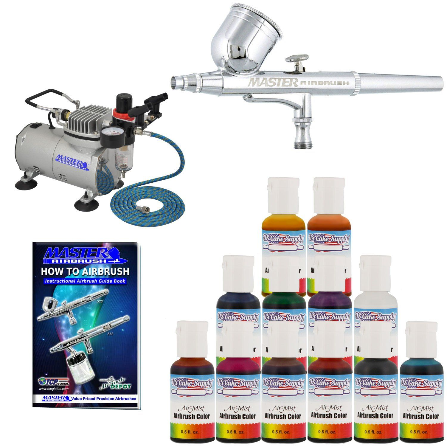 Master Airbrush Cake Decorating Airbrush Kit Christmas Gifts For