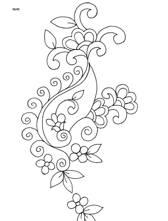 Pin de Diane Bowne en Botanical Designs | Pinterest | Bordado y Dibujo