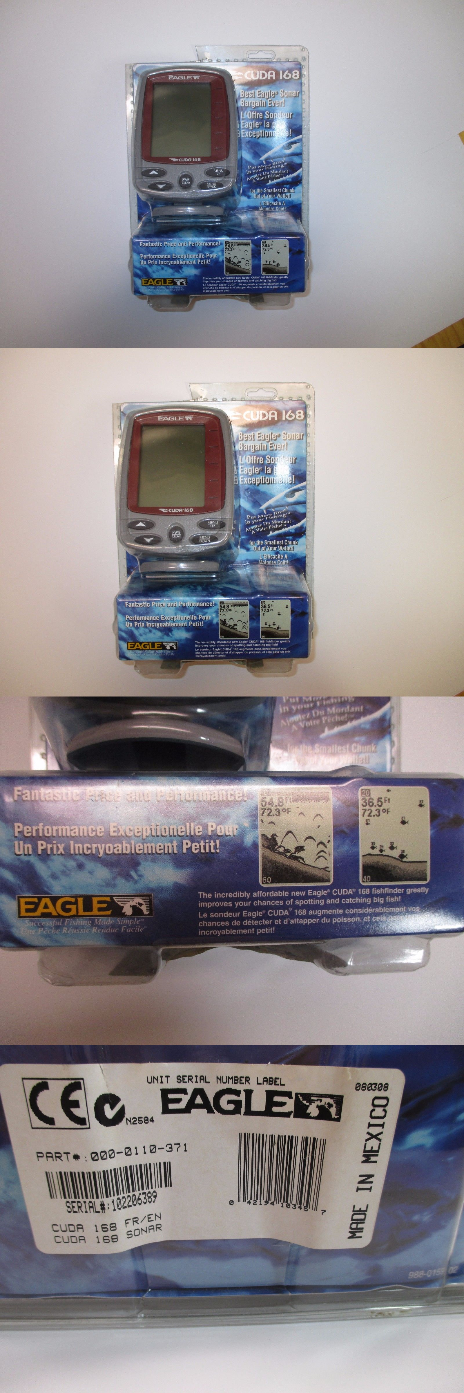 Eagle Cuda 168 Fish Finder Transducer Wire Diagram Fishfinders New Lowrance Wsu Temp Fastest Shipping Buy It Now Only On Ebay