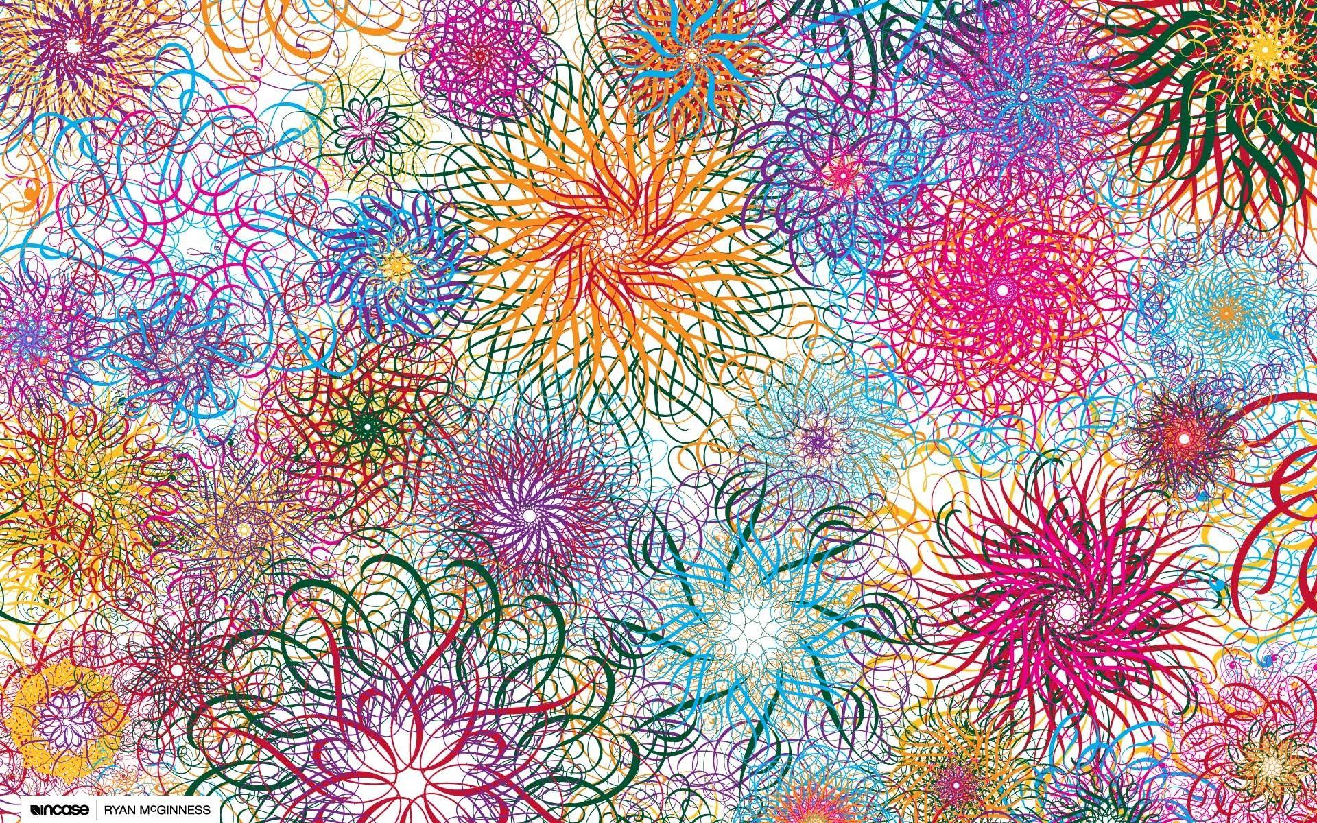 Imagenes Abstractas En Hd Para Descargar: Fondos Abstractos Flores Para Fondo De Pantalla En Hd 1 HD