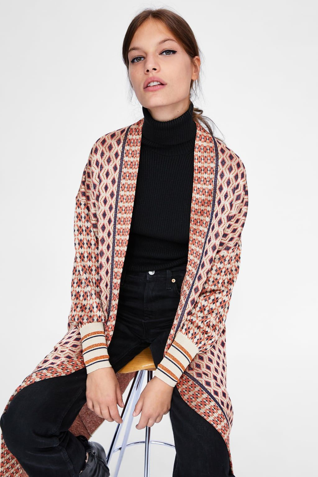 Special edition jacquard coat   Winter is coming in 2019
