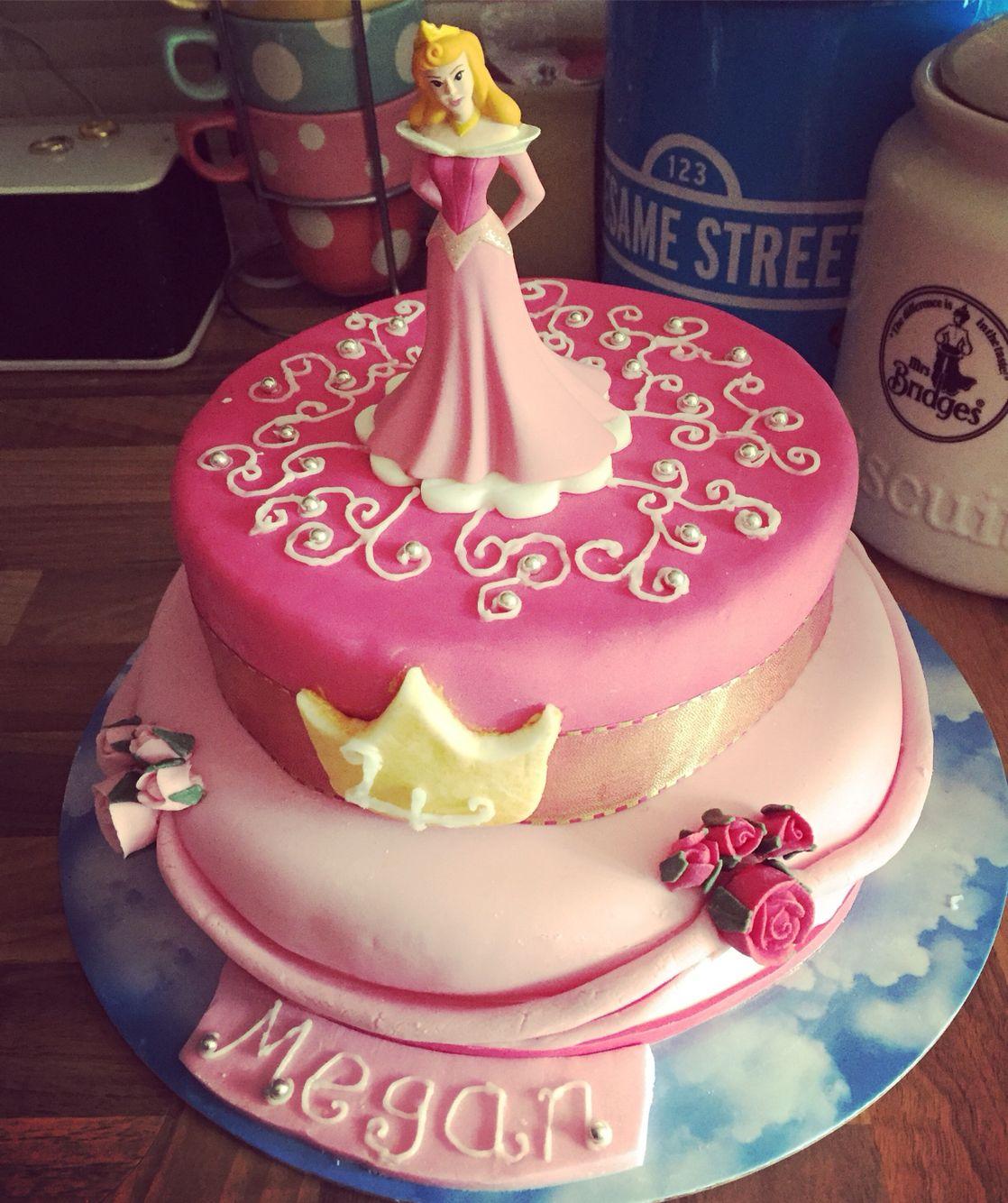 Astounding Sleeping Beauty Birthday Cake Cake Personalised Birthday Cards Paralily Jamesorg