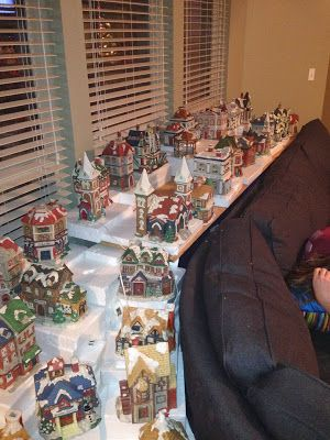 How To Set Up A Christmas Village Christmas Villages