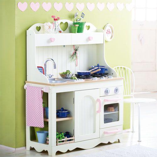 spielk che landhaus beige spielk che landh user und online shops. Black Bedroom Furniture Sets. Home Design Ideas