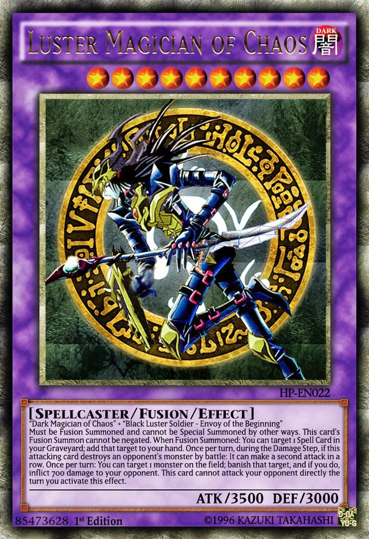 Luster Magician of Chaos by LightKeybladeMaster on ...