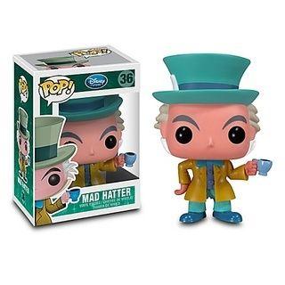 Figura Pop Chapeleiro Maluco Disney Funko Com Imagens Pop