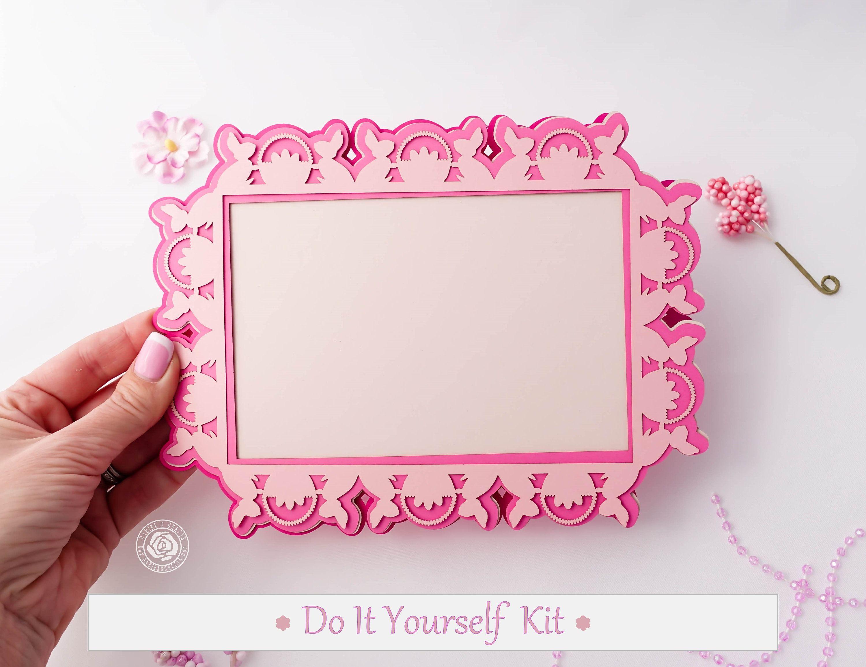 Diy Easter Frame Kit Diy Easter Scrapbook Kit For Girls Includes