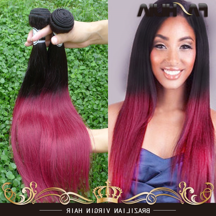 34 Dark Burgundy Haircolor Ideas