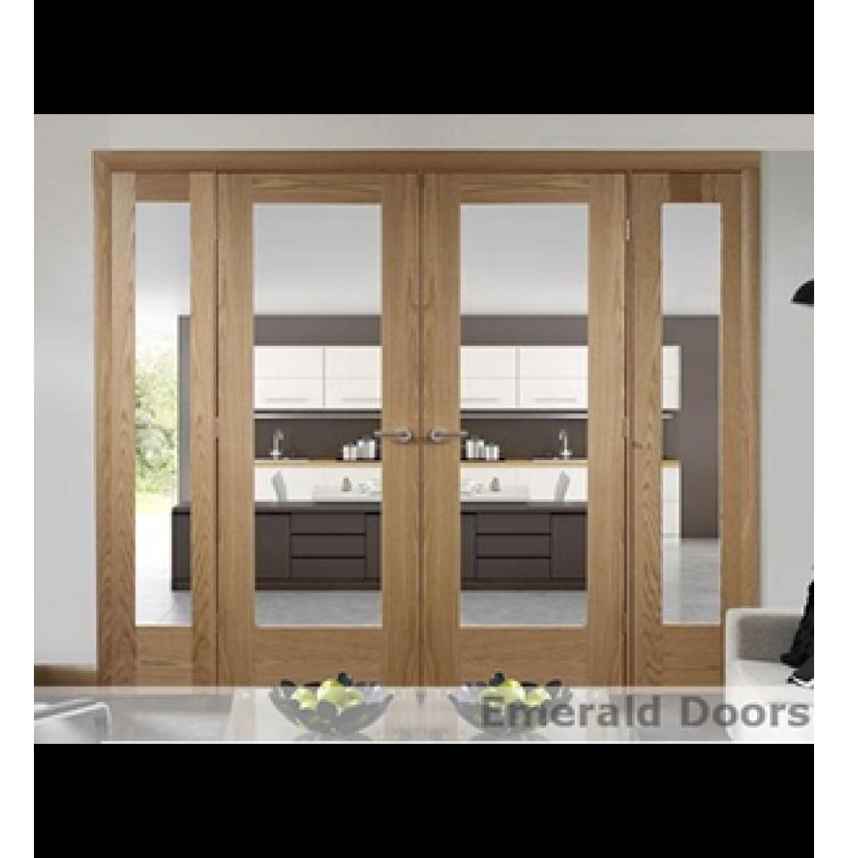 Oak pattern room divider dp option divider doors and patterns