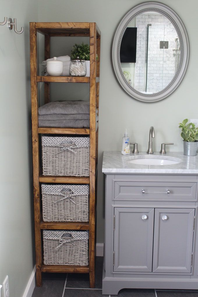 Photo of DIY Linen Tower – Free Build Plans