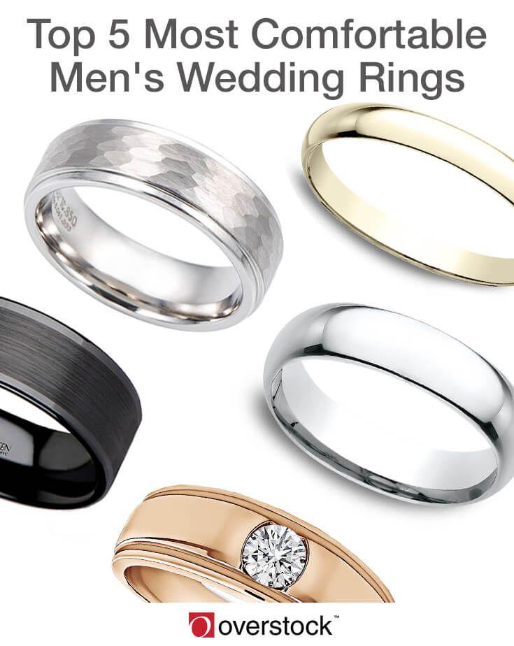 Top 5 Most Comfortable Men S Wedding Rings Mens Wedding Rings Wedding Rings Mens Wedding Rings Gold