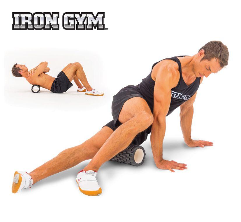 IRON GYM® Trigger Point Roller is de beste manier om blessures te voorkomen en sneller te herstellen na een blessure. Gebruik de Trigger Point Roller na je training en verbetert de hersteltijd en flexibiliteit van je spieren.