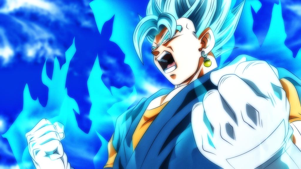 Vegito Blue Heroes By Rmehedi Anime Dragon Ball Super Dragon Ball Artwork Dragon Ball Wallpapers