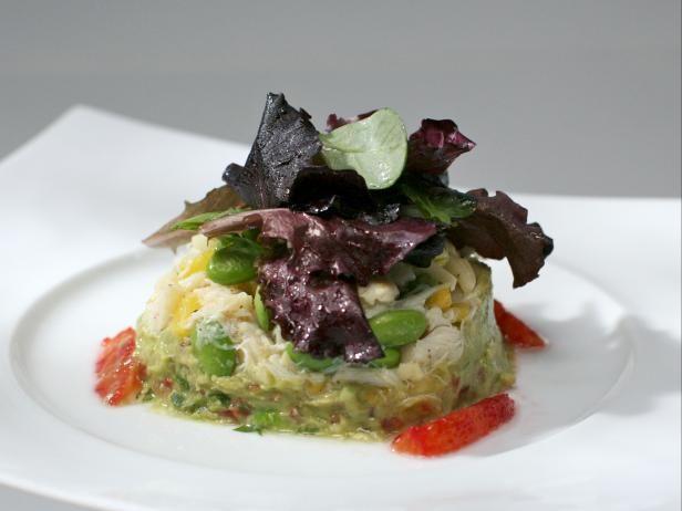 Crab and Guacamole Salad