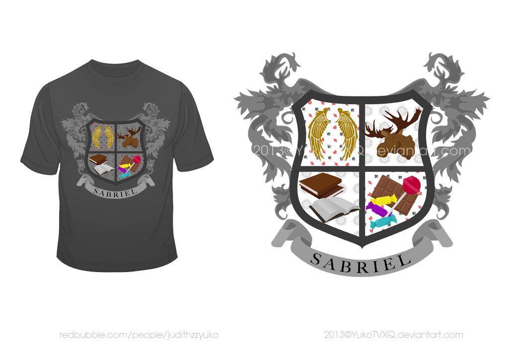 Sabriel Coat of Arms by YukoTVXQ.deviantart.com on @DeviantArt