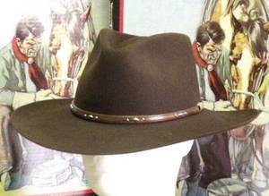 26719a370fa20 Stetson Pawnee 5X Fur Western Hat
