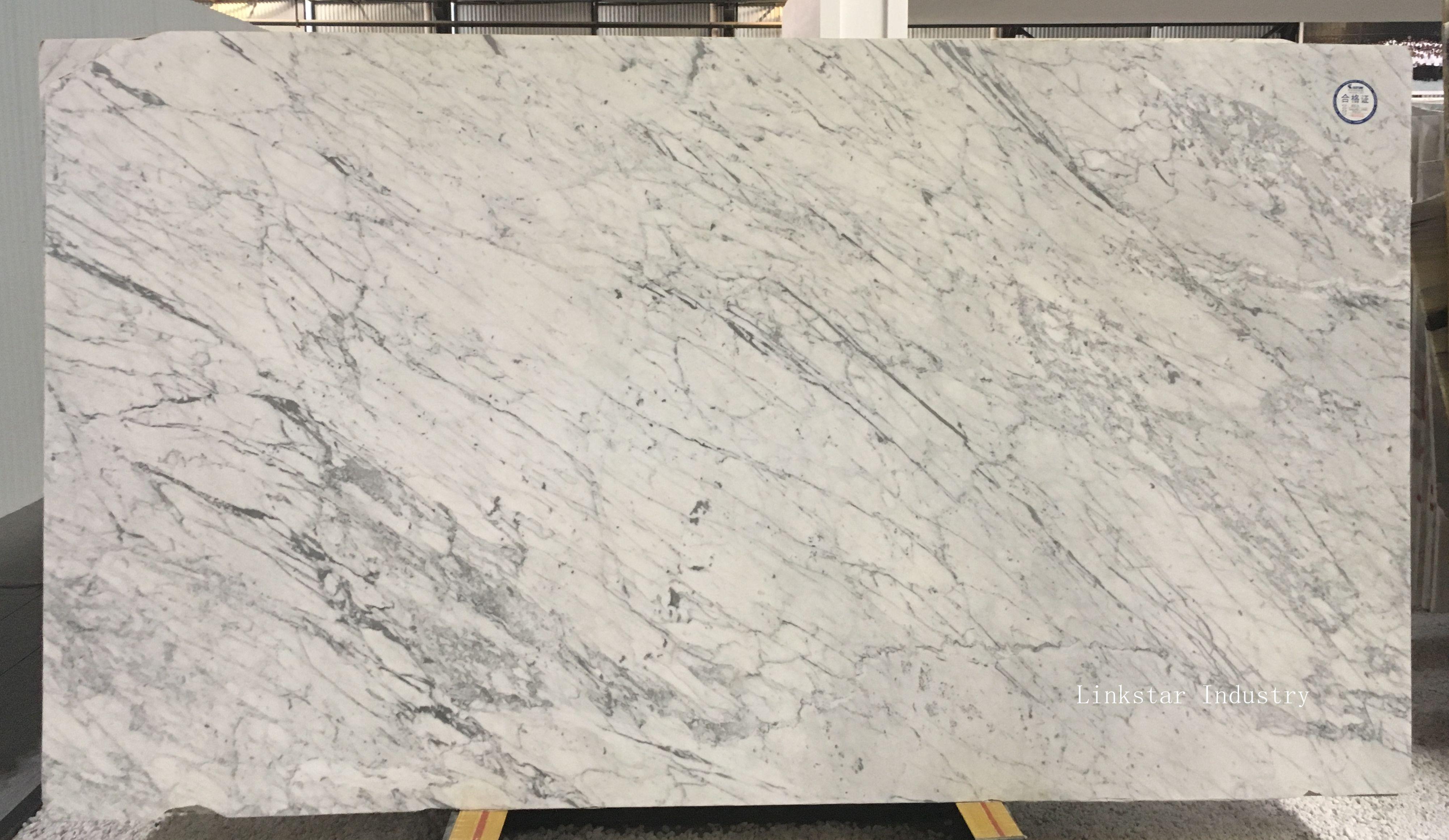 Italy White Carrara Marble Slab Tile White Carrara Marble Tile