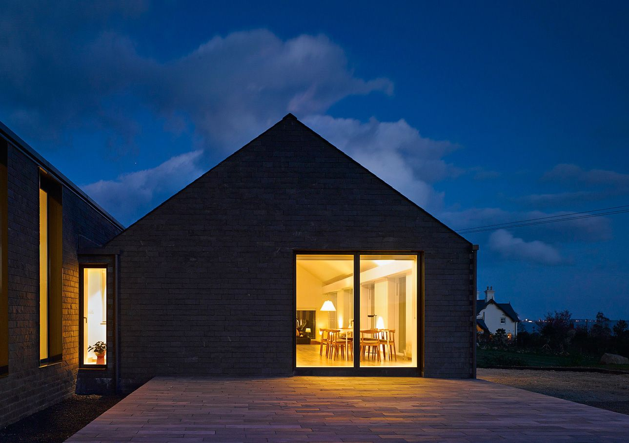 Lake House in Carlingford by Hall McKnight | Rural Irish Home ...