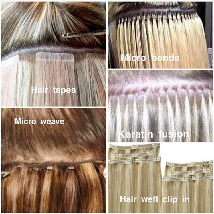 Types Of Hair Extensions Tomybsalon Httpstomybsalon Hair
