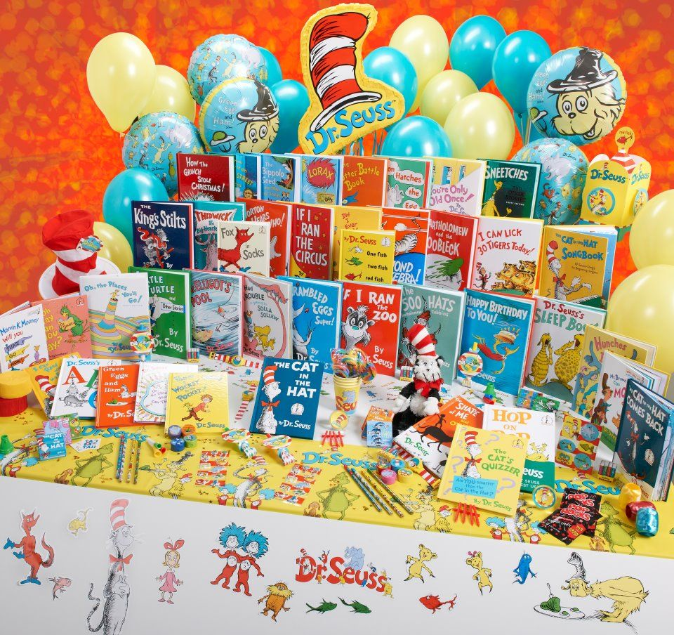 Dr Seuss The Lorax Full Movie In English: Read Across America Book Display