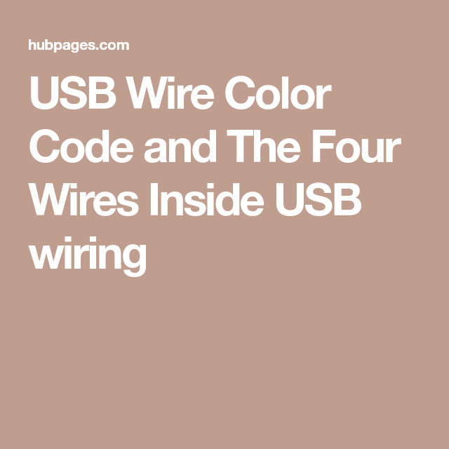 usb wire color code and the four wires inside usb wiring usbusb wire color code and the four wires inside usb wiring