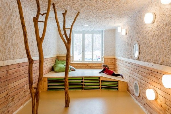 Nature Inspired Day Care Interior by Baukind 7 Modern Organic design home