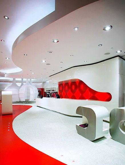 Uzumaki Interior Design: Fashion Store Interior Decorating Ideas .