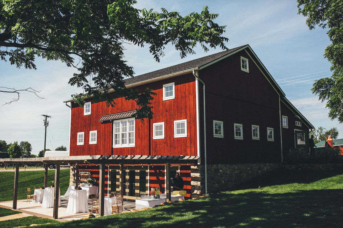 The 1837 restored Red Barn at Zingerman's Cornman Farms in ...