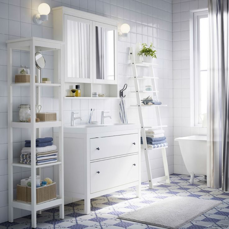 10 Ways To Organize Your Bathroom Bathrooms Tubs And Showers Salle De Bain Ikea Meuble Salle De Bain Ikea Et Etagere Salle De Bain
