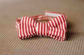 The Daily B: make a bow tie for your little guy