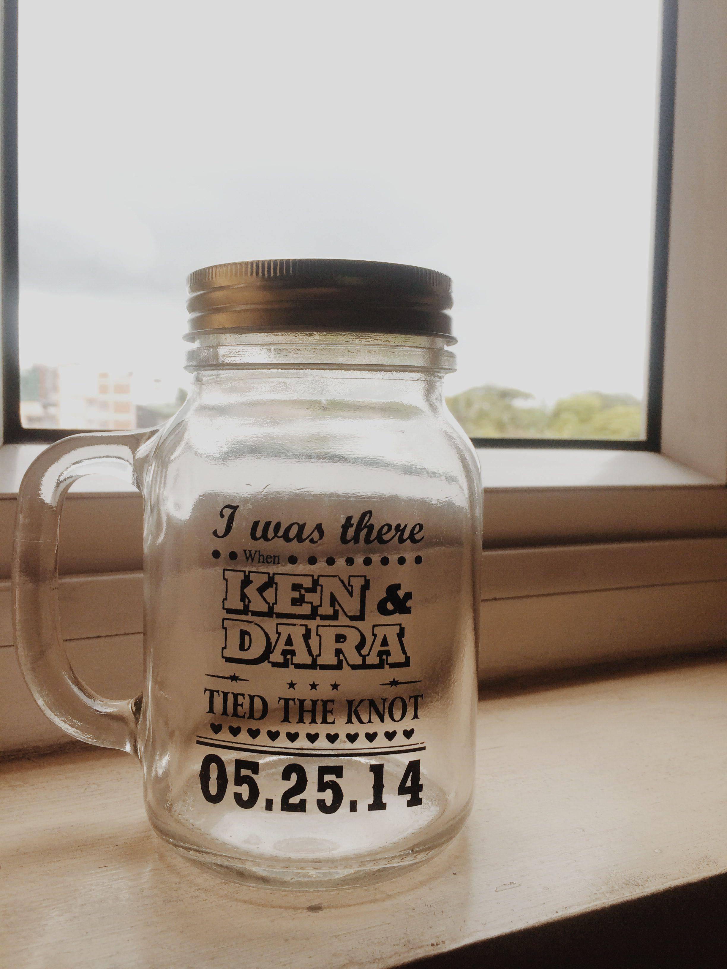 Wedding giveaway mason jars wedding ideas pinterest